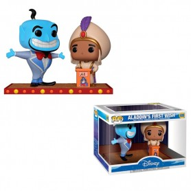 Figura POP Disney Movie Moment Aladdin Genio