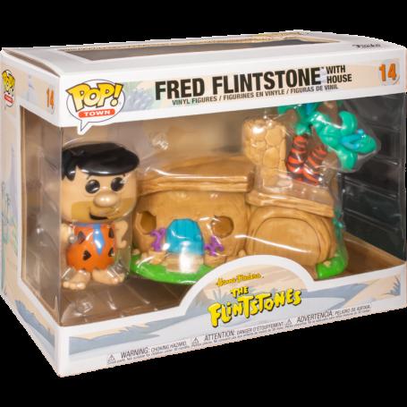 Los Picapiedra POP! Town Vinyl Figura Flintstone's Home