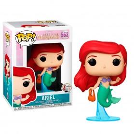 La Sirenita POP! Disney Vinyl Figura Ariel w/ Bag 9 cm