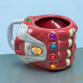 Taza XL Guantelete Iron Man Vengadores Avengers Marvel