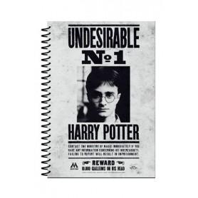 Harry Potter Libreta A5 Undesirable No 1
