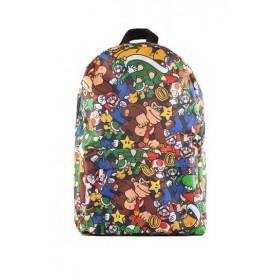 Nintendo Mochila Super Mario Characters AOP