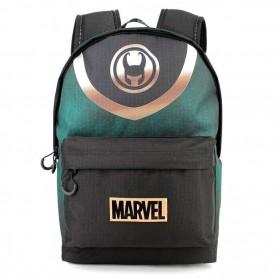 Mochila Loki Marvel 44cm Bolsillo pequeño Delantero