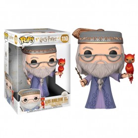 Figura POP Harry Potter Dumbledore with Fawkes 25cm 110