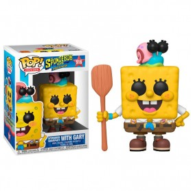 Bob Esponja 2020 POP! Vinyl Figura SpongeBob Camping Gear 9 cm 916