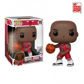NBA Figura Super Sized POP! Vinyl Michael Jordan (Red Jersey) 25 cm 75