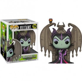 Disney POP! Deluxe Movies Vinyl Figura Maleficent on Throne Maléfica 9 cm