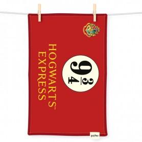 Paño cocina Hogwarts Express 9 3/4 Harry Potter