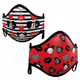 Pack 2 mascarillas Pucca surtido juvenil