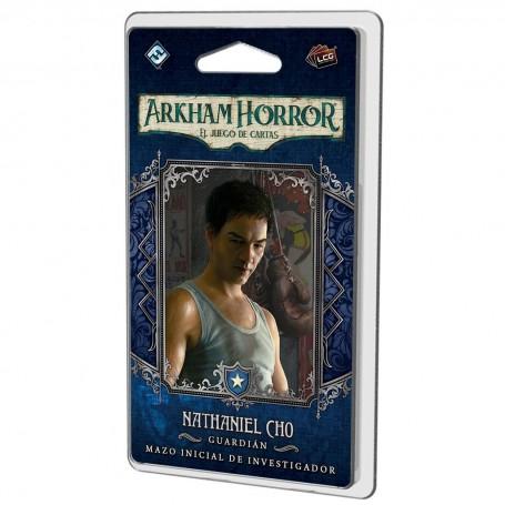 Nathaniel Cho Mazo de investigador - Arkham Horror, El juego de cartas