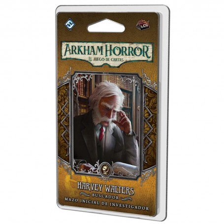 Harvey Walters Mazo de investigador - Arkham Horror, El juego de cartas