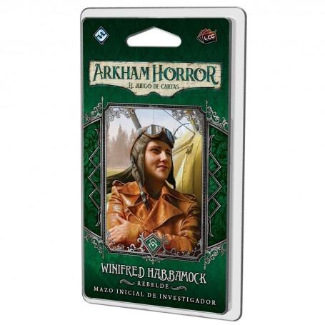 Winifred Habbamock Mazo de investigador - Arkham Horror, El juego de cartas