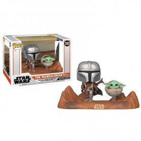 Figura POP Star Wars Mandalorian - The Child and Mandalorian