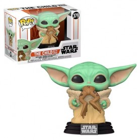 Funko POP Star Wars Mandalorian The Child with Frog (Yoda con Rana)