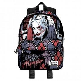 Mochila Harley Quinn DC Comics 44cm