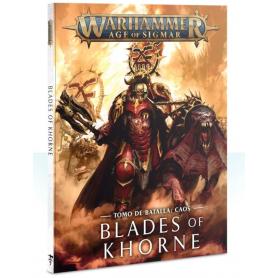 Tomo de batalla: Blades of Khorne(Español)