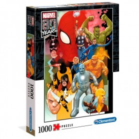 Puzzle Marvel 80 Years 1000pz