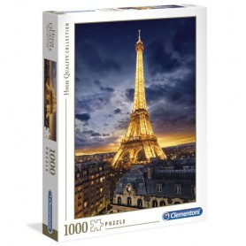 Puzzle High Quality Tour Eiffel 1000pzs