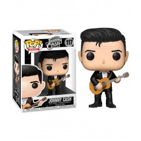 Johnny Cash POP! Rocks Vinyl Figura Johnny Cash 9 cm