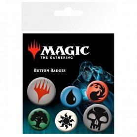 Set chapas Symbols Magic The Gathering Mana