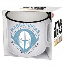 Taza Yoda The Child The Mandalorian Blanca Star Wars 400ml