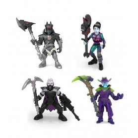 Fortnite Battle Royale Collection Pack de 4 Minifiguras 5 cm Wave 3