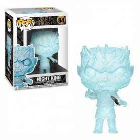 Juego de Tronos POP! Television Vinyl Figura Crystal Night King w/Dagger in Chest 9 cm