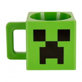 Minecraft Taza Creeper Face PVC