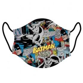 Mascarilla Batman Comic DC Comics adulto