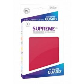 Ultimate Guard Supreme UX Sleeves Fundas de Cartas Tamaño Estándar Rojo (80)