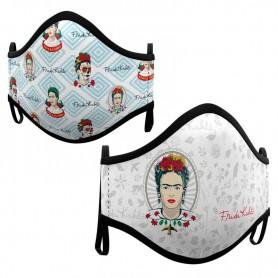 Pack 2 mascarillas Frida Kahlo surtido adulto
