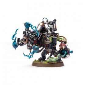 Big Mek Ork con kañón de atake shokk