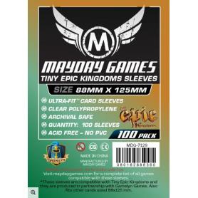 Fundas Custom Tiny Epic Kingdoms (pack de 100) (88 X 125 MM) Mayday