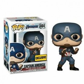 Vengadores Endgame Cabezón POP! Movies Vinyl Captain America Special Edition 450
