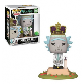 Rick & Morty Electronic POP! Movies Vinyl Figura con sonido Rick on Toilet 694