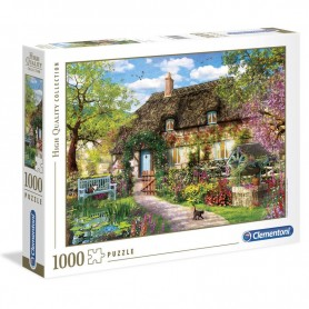Puzzle High Quality The Old Cottage 1000pzs