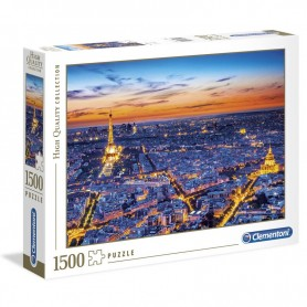 Puzzle High Quality Paris View 1500pzs