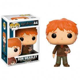 Figura Funko Pop! Ron Weasley with Scabbers 44