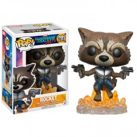 Figura Funko Pop! Rocket 201 Guardianes de la Galaxia