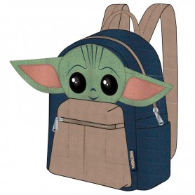 Mochila Yoda Child The Mandalorian Star Wars 22cm