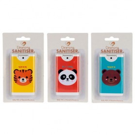 Spray gel hidroalcoholico Animales Adorables surtido