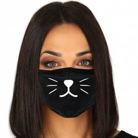 Mascarilla Adulto reutilizable 3 capas Cat