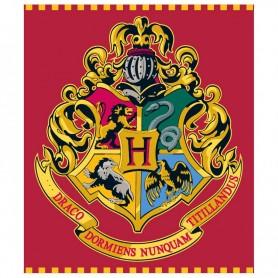 Manta Hogwarts Harry Potter premium coralina