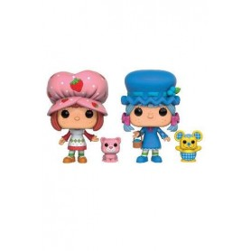 Tarta de Fresa Pack de 2 POP! Vinyl Figuras Strawberry Shortcake & Blueberry Muffin 9 cm