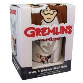 Taza desayuno + calcetines Gremlins