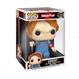 Chucky el muñeco diabólico Super Sized POP! Movies Vinyl Figura Chucky 25 cm 973
