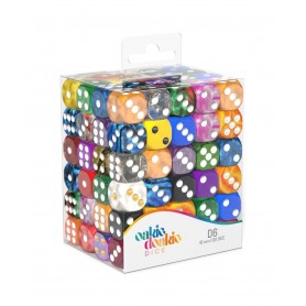 Oakie Doakie Dice Dados D6 16 mm Retail Pack Mixed (120)