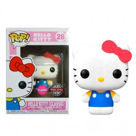 Figura POP Sanrio Hello Kitty Classic Flocked