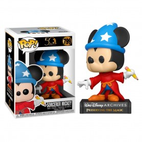 Figura POP Disney Archives Sorcerer Mickey