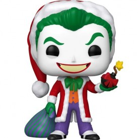 Figura POP DC Holiday Santa Joker